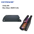 Victpower 48v 13.6ah Lithium ion battery 13s4p 650wh Battery pack