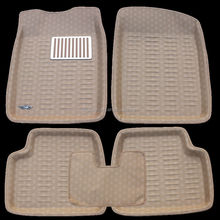 hot sale anti slip car floor mat cleaning machine with nail backing
