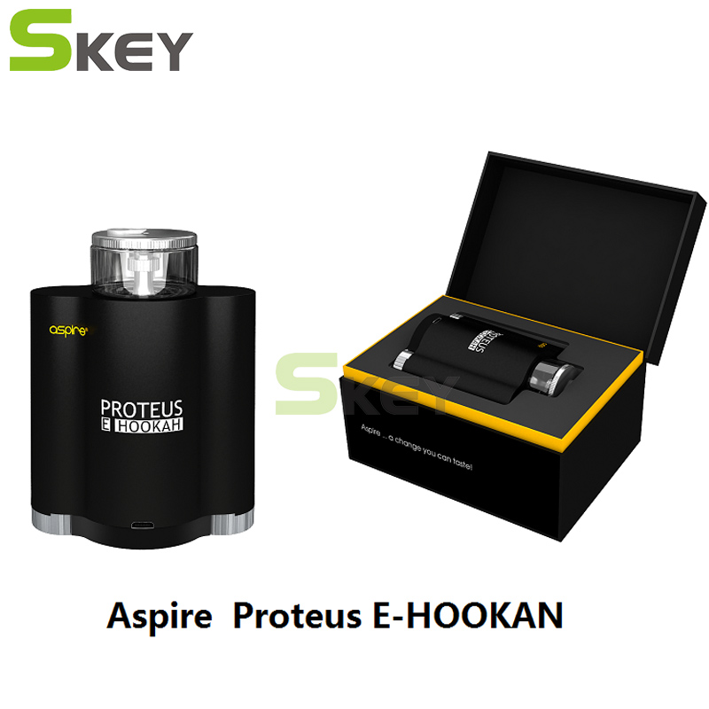 Original Newest Aspire Proteus E Hookah Kit 10ml Tank Aspire E Hookah E Cigarette