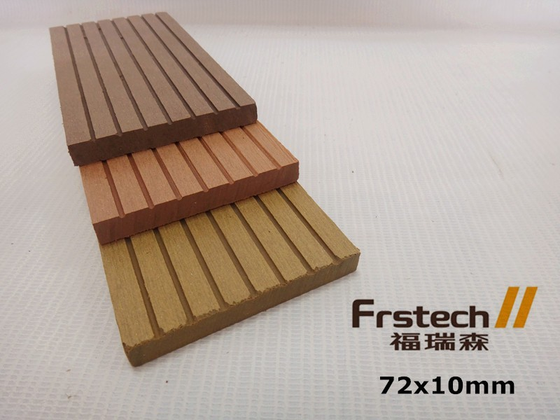 price wpc flooring 72*12mm/composite decking cheap/ wood plastic composite slats for skirting