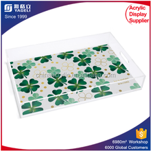Yageli wholesale plexiglass lucite tray