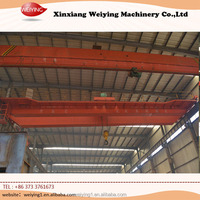 Strong Beam Rail Single Overhead Crane In workshop