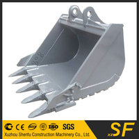 1.6CBM Heavy Duty bucket fit for 3-120T Excavator