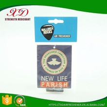 Wholesale Hanging Paper Car Air Freshener Custom Shape with Logo Printing