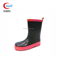 custom cheap unisex rubber rain boots wholesale