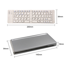 bluetooth keyboard smartphone Wireless folding Keyboard Bluetooth 3.0 For Apple