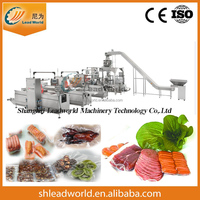 Automatic Stretch Film Thermoforming Meats Vegetable Seafood Vacuum Packaging Machine