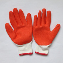 Equip&operation protection Safety Gloves latex coated work gloves