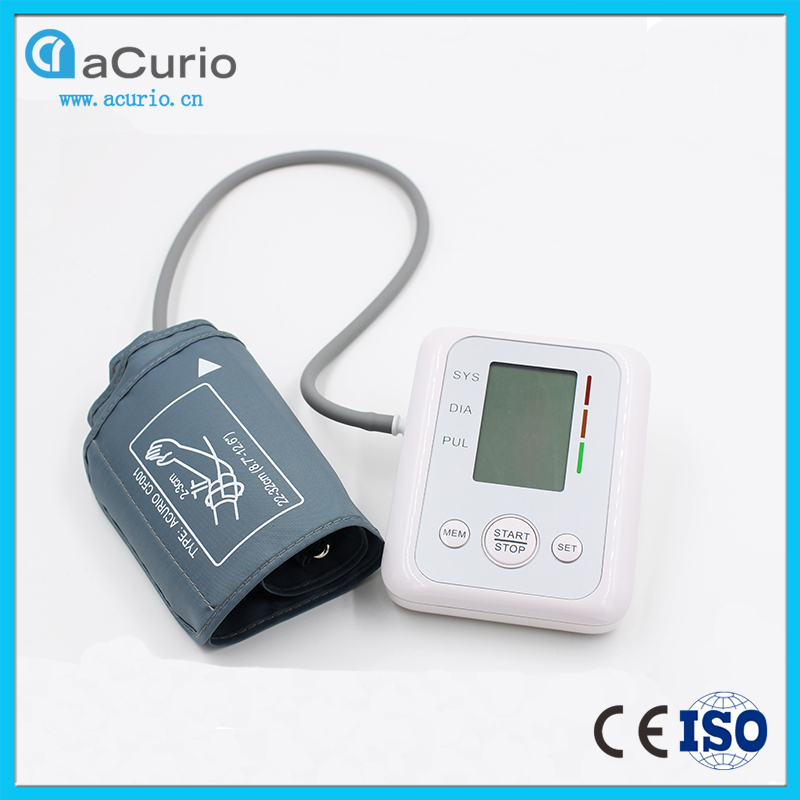 Hottest Upper Arm Blood Pressure Monitor Digital Medical Machine,Good Electronic Sphygmomanometer for Healthcare,CE&ISO Approved