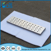 T150 tile insert linear swimming pool floor storm water drain covers