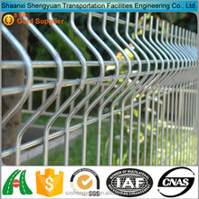 Galvanized sheet metal pig fence panel