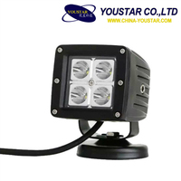 12w C-r-e-e Led Work Light Off Road Driving Lamp ATV Jeeps 4x4 Tractor Truck Waterproof Light ROOF LIGHT