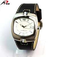 Luxury watch japan movt quartz watch stainless steel black new