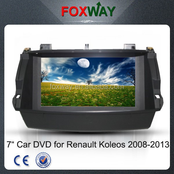 For Renault Koleos 2008-2013 Car multimedia player with DVD /GPS/BT/Radio/RDS