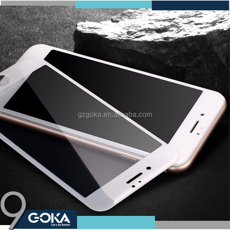 Tempered glass for iPhone 7 ROSE GOLD!! Stronger 3D TOUCH 9H 2.5D mobile phone Tempered Glass screen