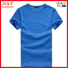 Fashion 2016 blank color custom logo t shirt 100% cotton short sleeve o-neck tee shirt