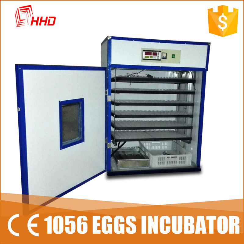 HHD ce approved full automatic capacity 1000 chicken egg incubator price/hatchery machine YZITE-10