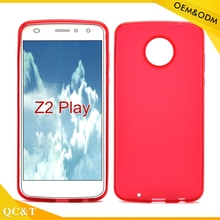 Black Soft Frosted Pudding TPU Gel Case For Z2 play mate phone cover