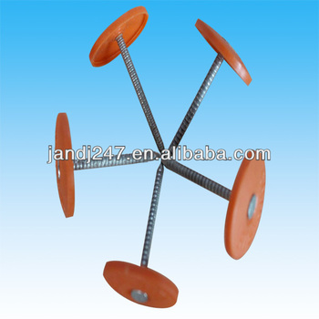 Plastic Cap Nails/ Plastic Cap Roofing Nails In Guangzhou