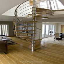 Indoor house decorative spiral staircase stairway design