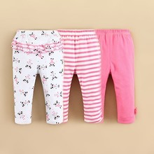 2015 Newest Finished Infant and Toddler Girls Long Pants Trouser Wholesale Clothing(14224)