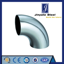 304 stainless steel pipe 90 degree elbow dimensions