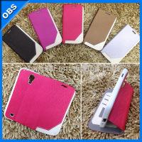 wallet flip design Pu leather mobile phone case for samsung