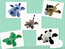 Hot sell animal plush bookmark toy, lovely stuffed animal book