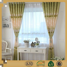 2015 new design china high-grade ready made curtain