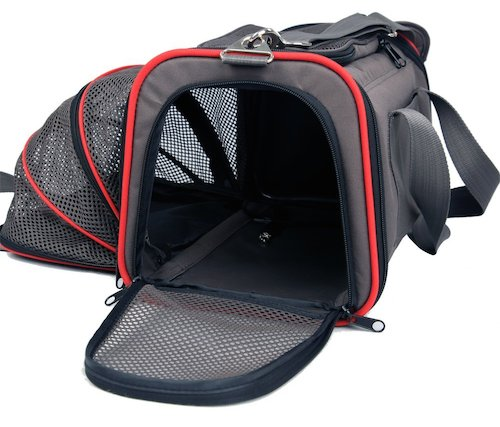 Petsfit Expandable Airline Approved Pet Carrier