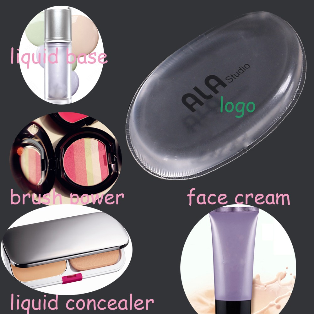 Silica Gel Puff Pro Beauty Makeup Flawless Smooth Cream Powder Foundation Makeup Puff Cosmetic Makeup Application