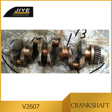 kubota crankshaft V2607 , engine spare parts