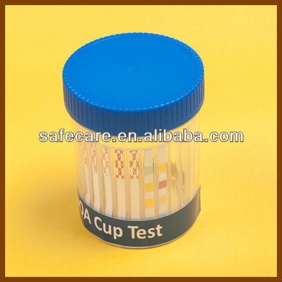CE&ISO13485 Approved Medical Diagnostic One-Step Urine Drug Test Cup