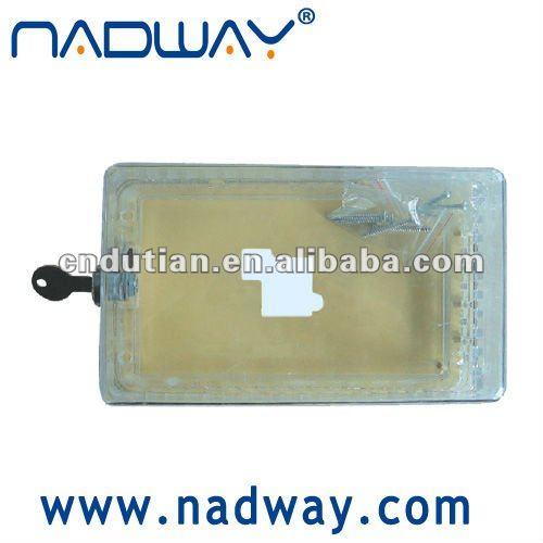 universal clear plastic thermostat guard