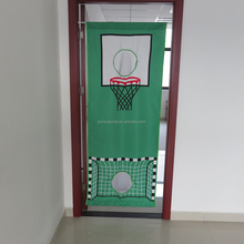 children adjustable door goal and theater