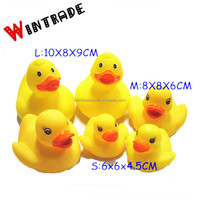 Yellow Weighted Rubber Duck