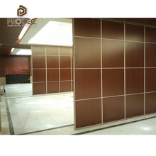 Temporary folding partition acoustic movable partitions wall for restaurant