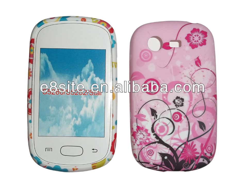 Custom Design TPU Case For SamSung S5280 S5282 Galaxy Star