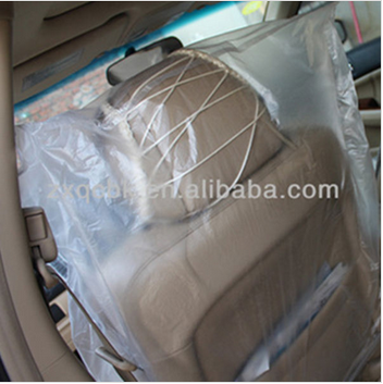 High quality big sale universal car seat cover full set/plastic car seat cover