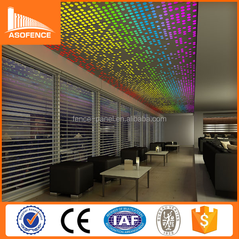 2015 China factory Aluminium 1.0 mm Perforated Sheet Metal / embossed perforated sheet metal (manufacturer)
