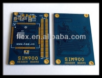SIM900 Header PCB Gold pcb supplier