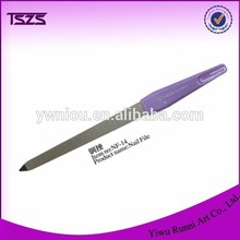 new hot selling products steel triangle nail file