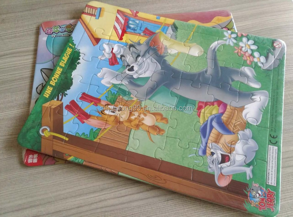 Tom and JERRY Puzzle Cartoon Puzzle DIY Toy Puzzle