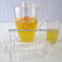 Tableware High quality clear plastic water jugs