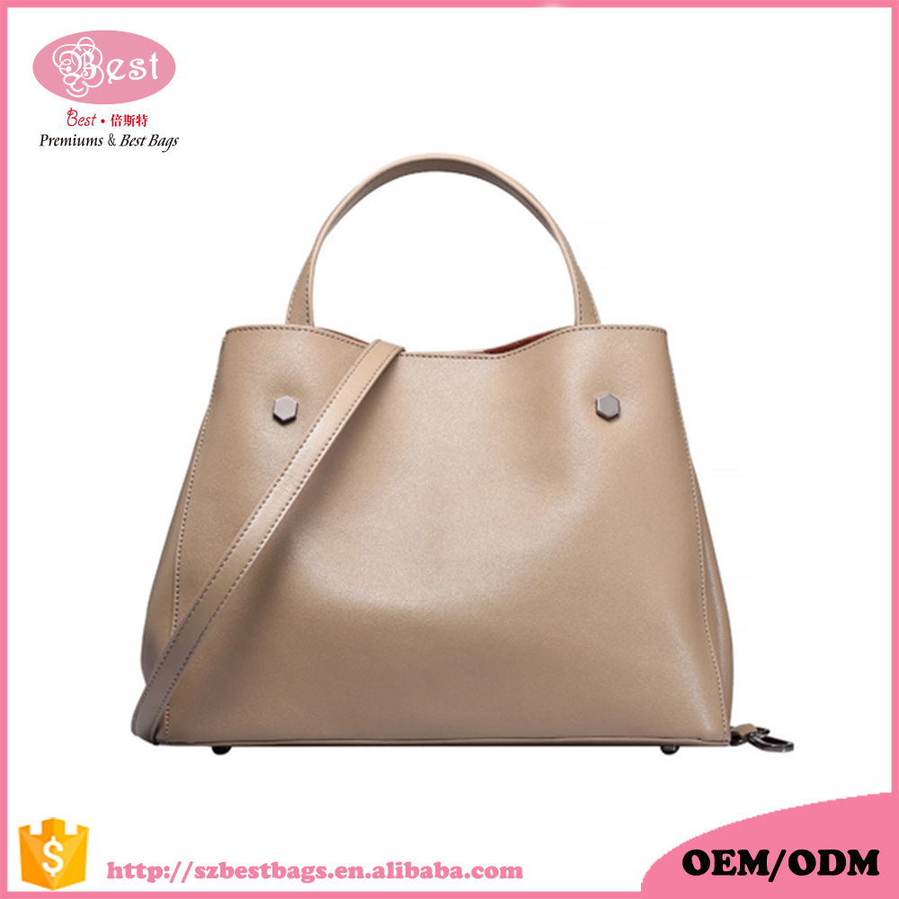 2017 Fashion ladies cow leather handbags