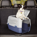 cat medium dog 23 Inch two-door top-load pet kennel carry crate