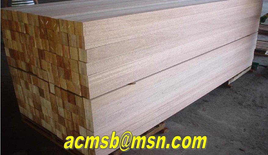 Meranti 3-Layer Solid Laminated Scantling