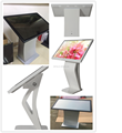Advertising interactive floor stand digital signage android smart network controller tft lcd touch kiosk replacement
