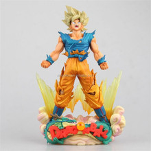 Japan Anime figure Dragon ball Z Super Master Stars Diorama Son Goku The brush 23 cm Type B toys action figure