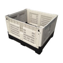 1.2x1 m hygienic heavy duty foldable pallet containers for vegetable
